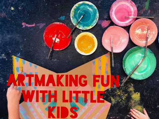 Winter Holiday Workshops Artmaking Fun with Little Kids