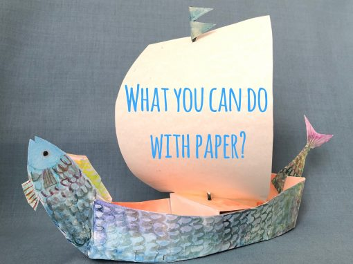 Spring Holiday Workshops: What You Can Do with Paper?