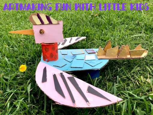 Summer Holiday workshops: Artmaking Fun for Little Kids